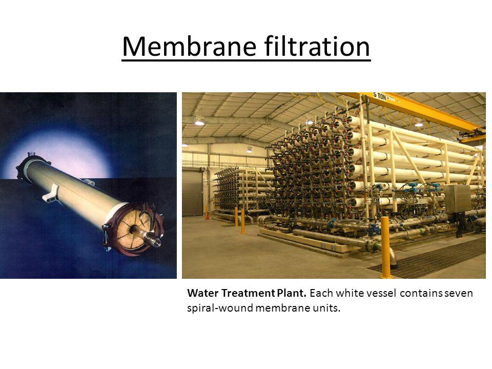 Membrane filtration Water Treatment Plant.
