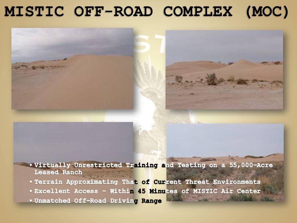 MISTIC OFF-ROAD COMPLEX (MOC)