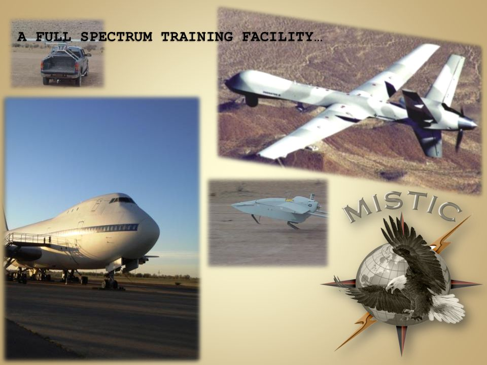 A FULL SPECTRUM TRAINING FACILITY…