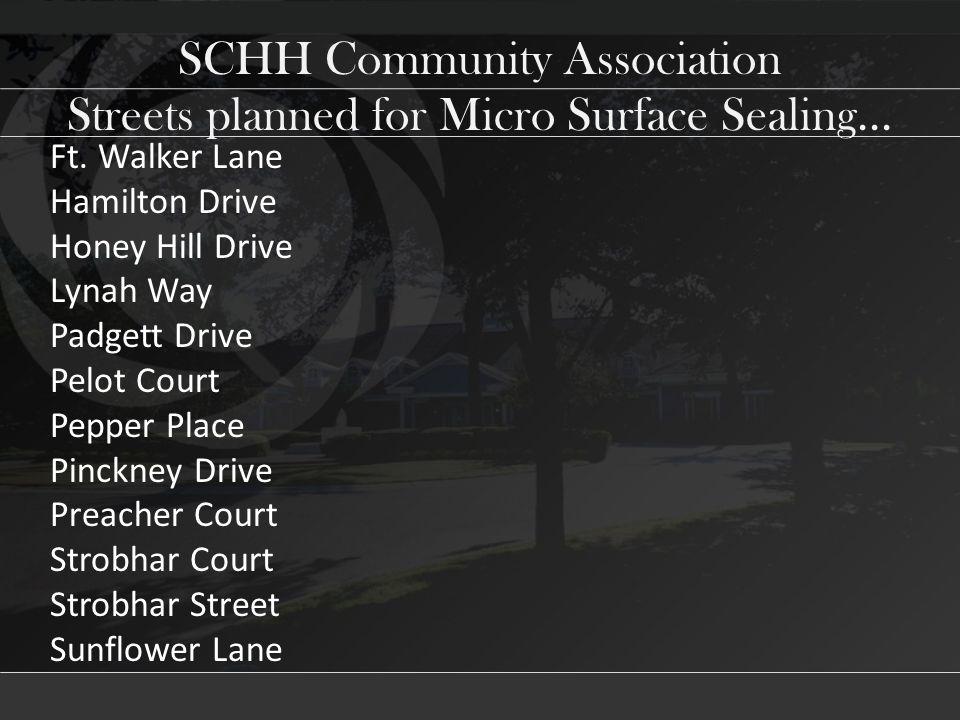 SCHH Community Association Ft.