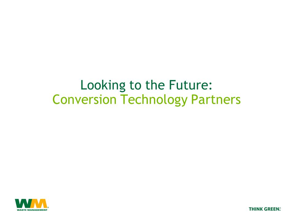 Looking to the Future: Conversion Technology Partners