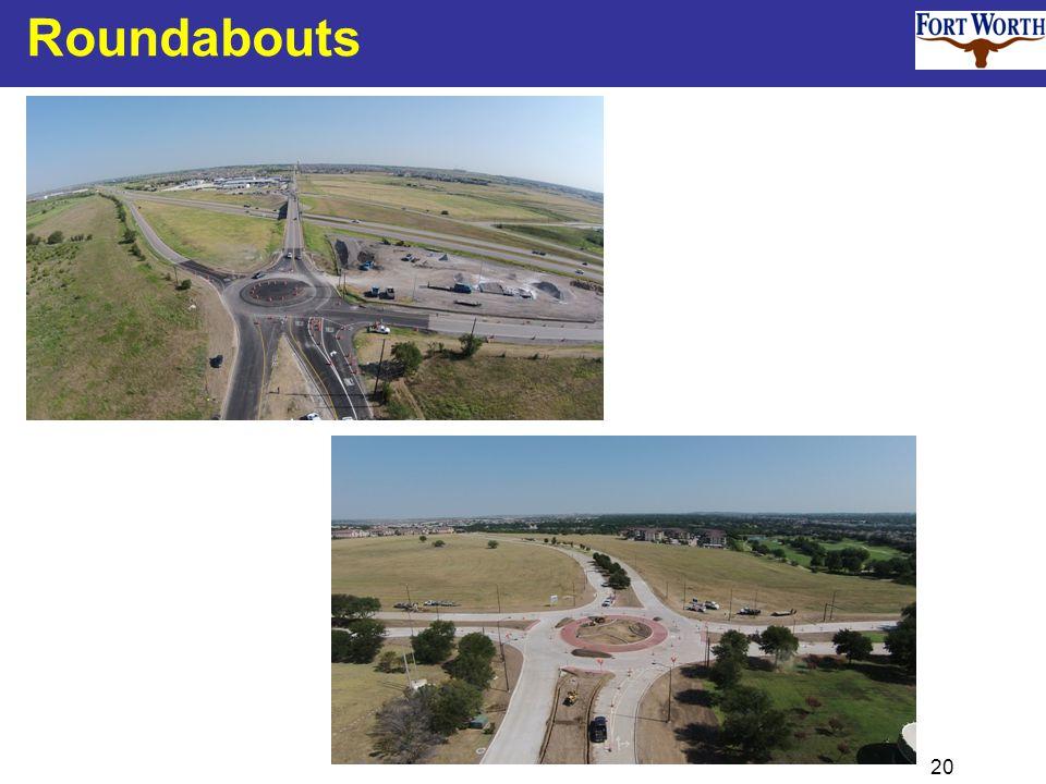 20 Roundabouts