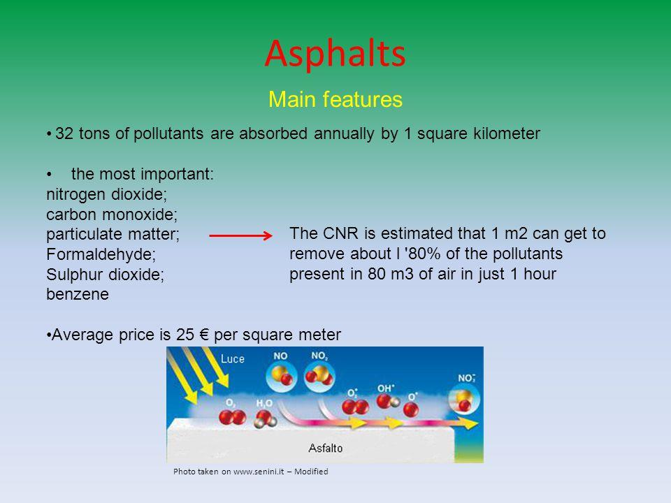 Asphalts Why use them.
