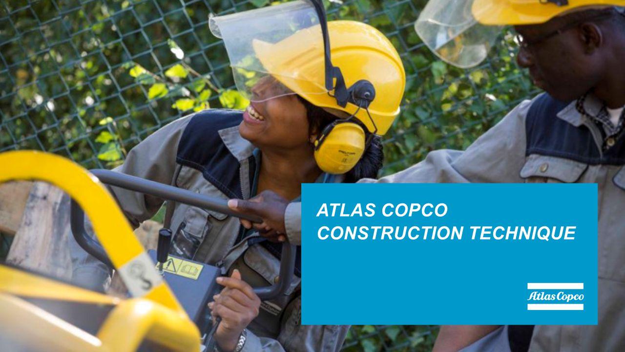ATLAS COPCO CONSTRUCTION TECHNIQUE