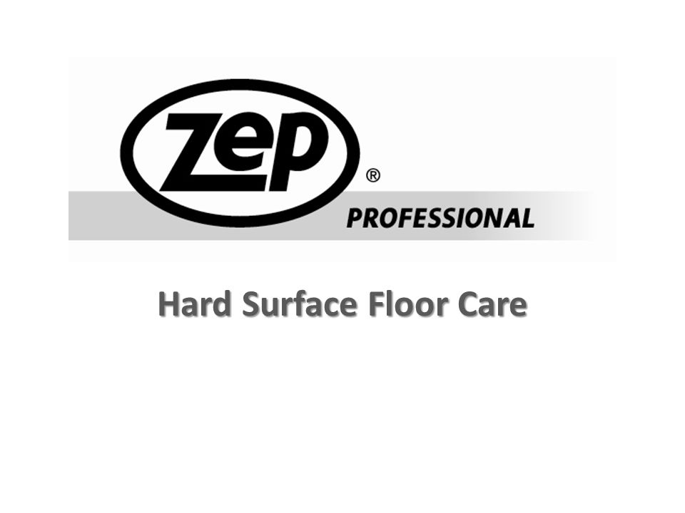 Hard Surface Floor Care