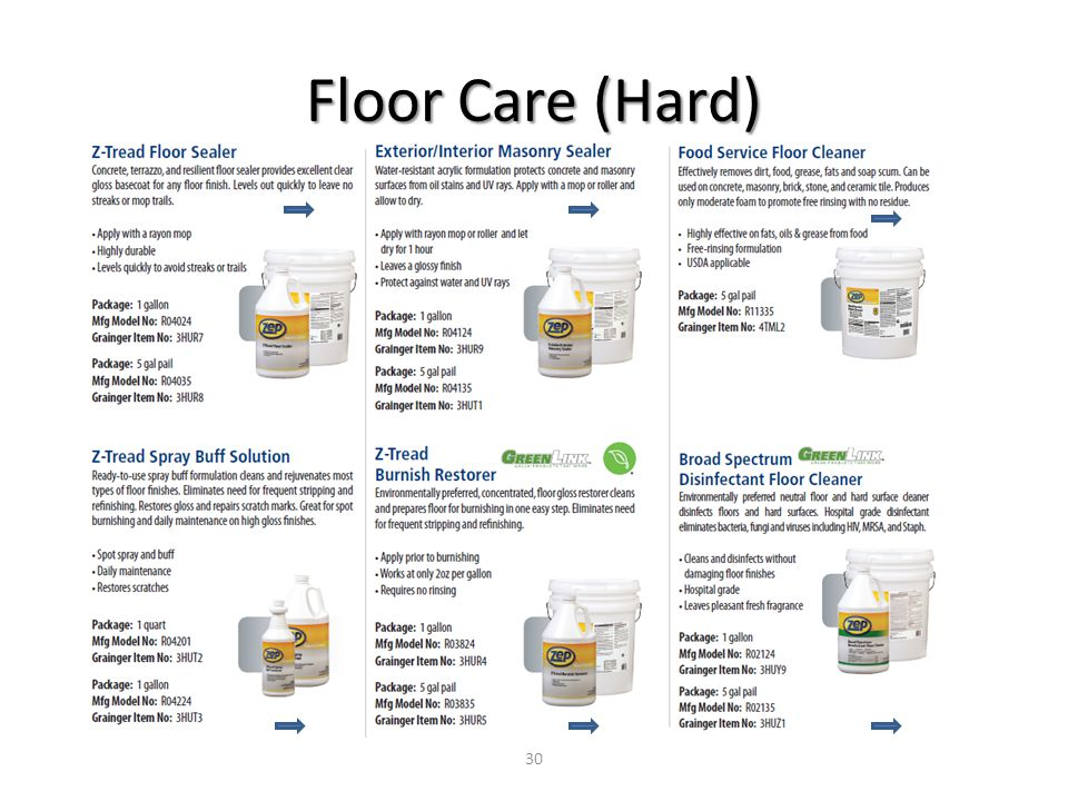 Floor Care (Hard) 30