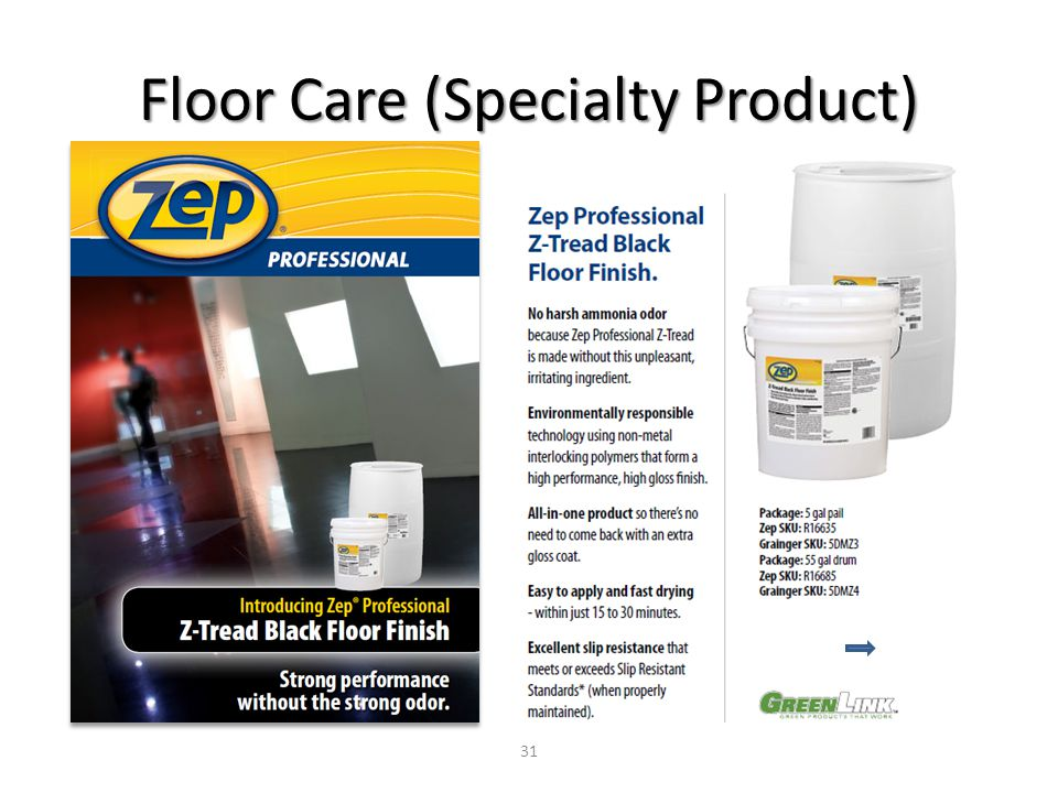 Floor Care (Specialty Product) 31