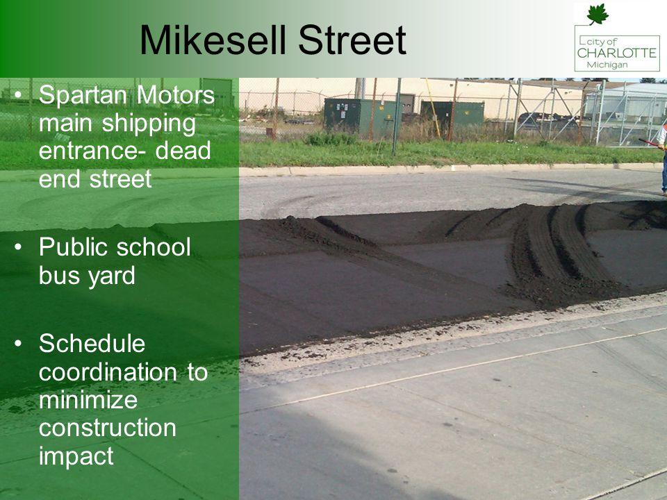 Mikesell Street Last paving 1977 3 HMA over aggregate base 3 HMA + ½ base reclamation CIR = 3.8% engineered emulsion + RAP Ultra thin overlay