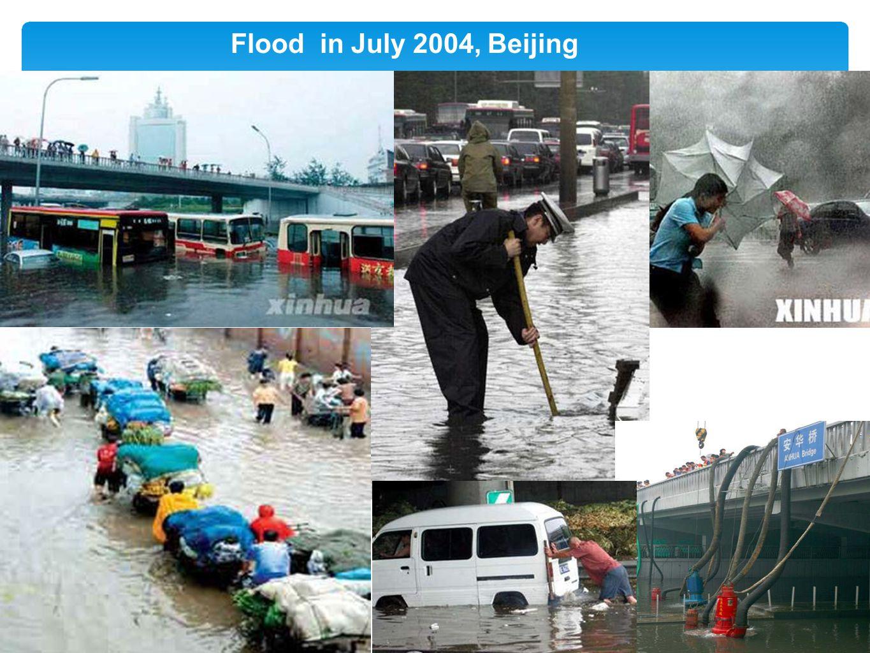 Floodin July 2004, Beijing