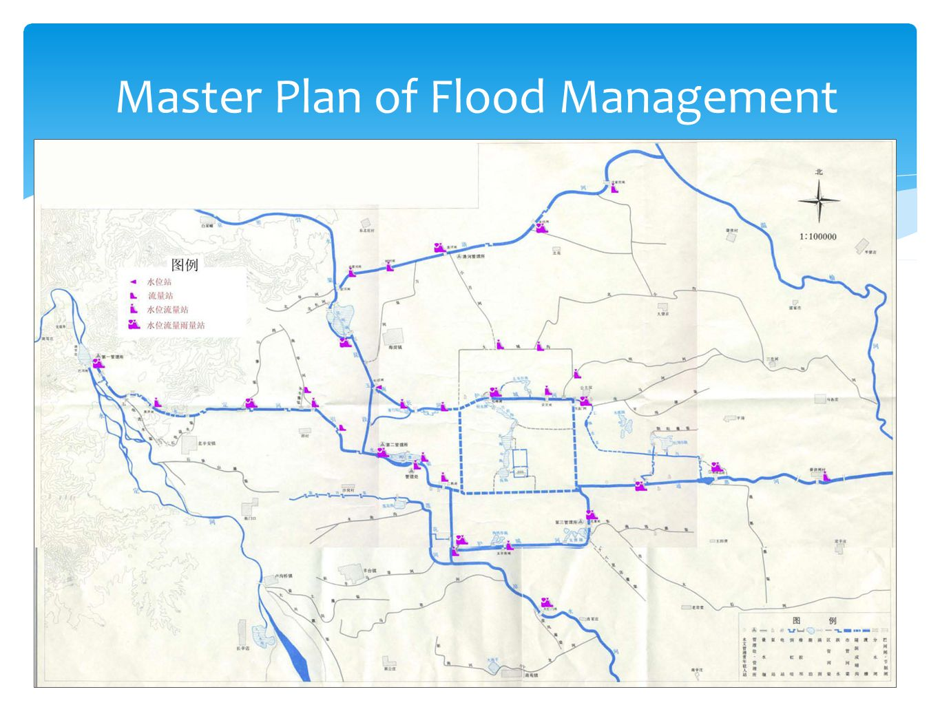 Master Plan of Flood Management