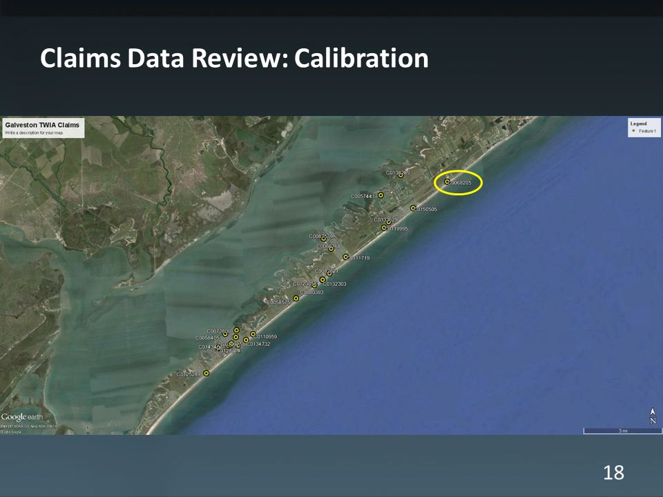 18 Claims Data Review: Calibration