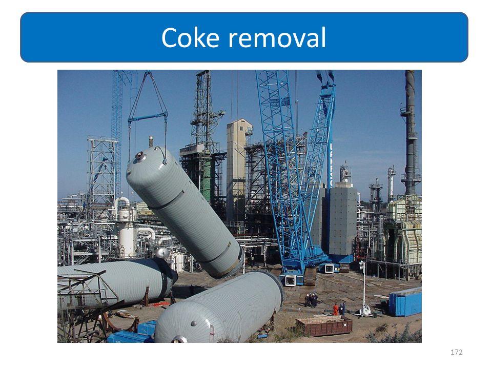 172 Coke removal