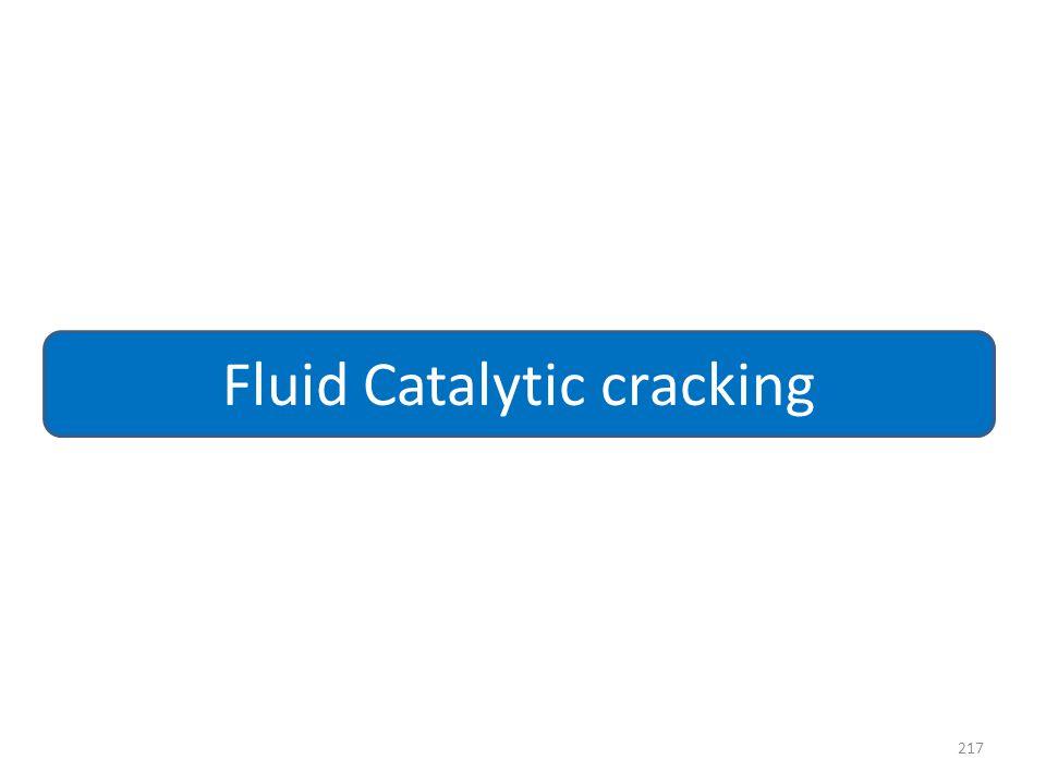 217 Fluid Catalytic cracking