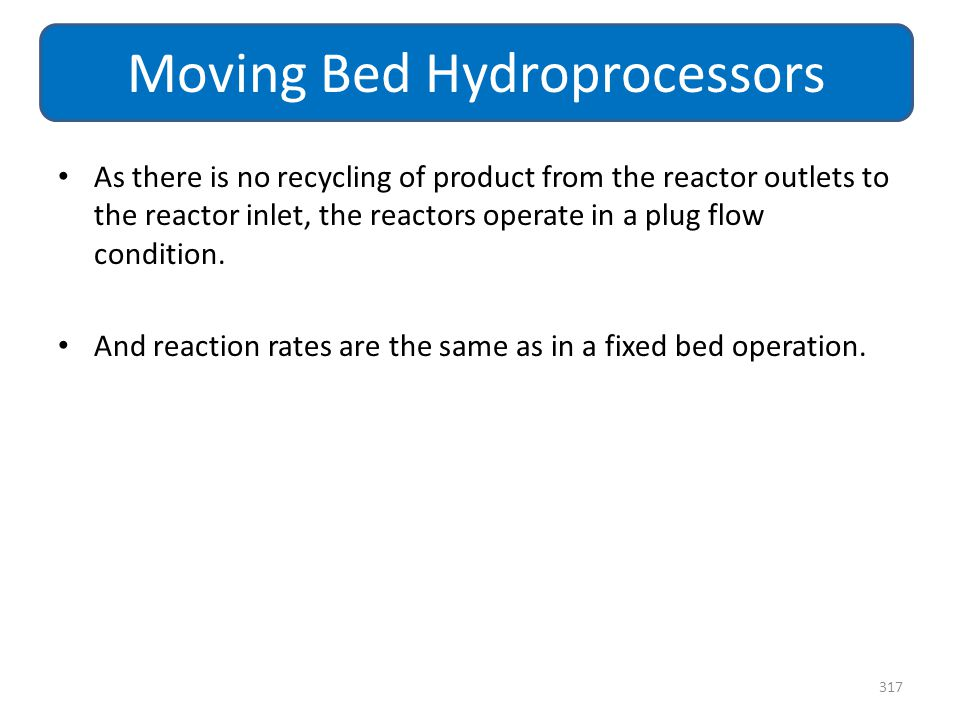 As there is no recycling of product from the reactor outlets to the reactor inlet, the reactors operate in a plug flow condition. And reaction rates a