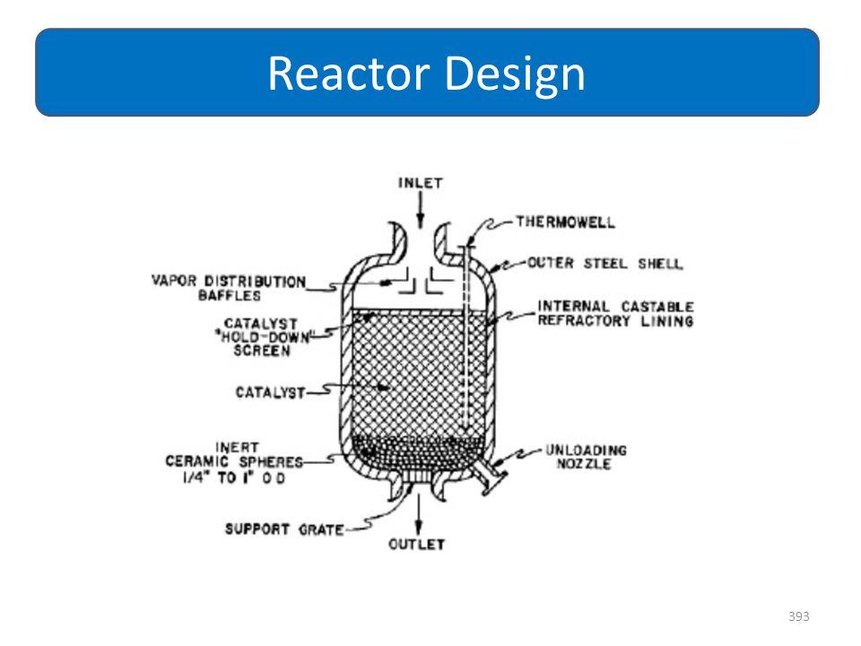 393 Reactor Design