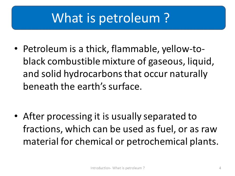 Petroleum produced from a well is not pure hydrocarbons, it has some impurities including water, brine, inert gasses, mercaptants, carbon dioxide, H2S, drilling sands and others.