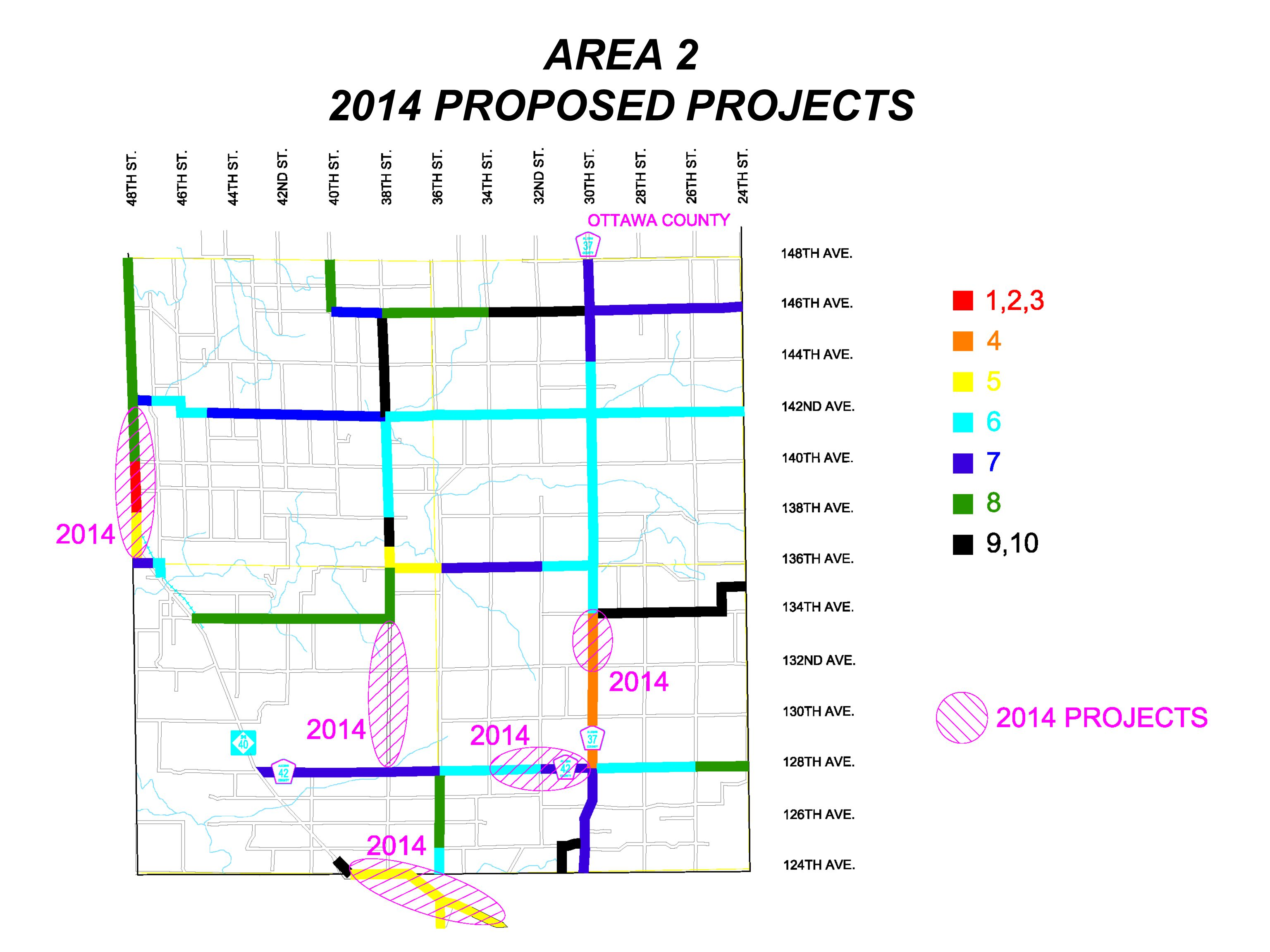 AREA 2 2014 PROPOSED PROJECTS