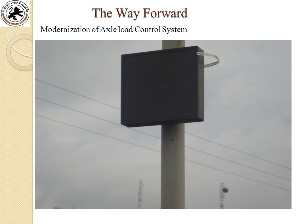 Modernization of Axle load Control System The Way Forward The Way Forward