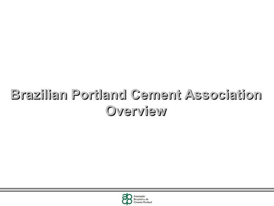 Brazilian Portland Cement Association Overview