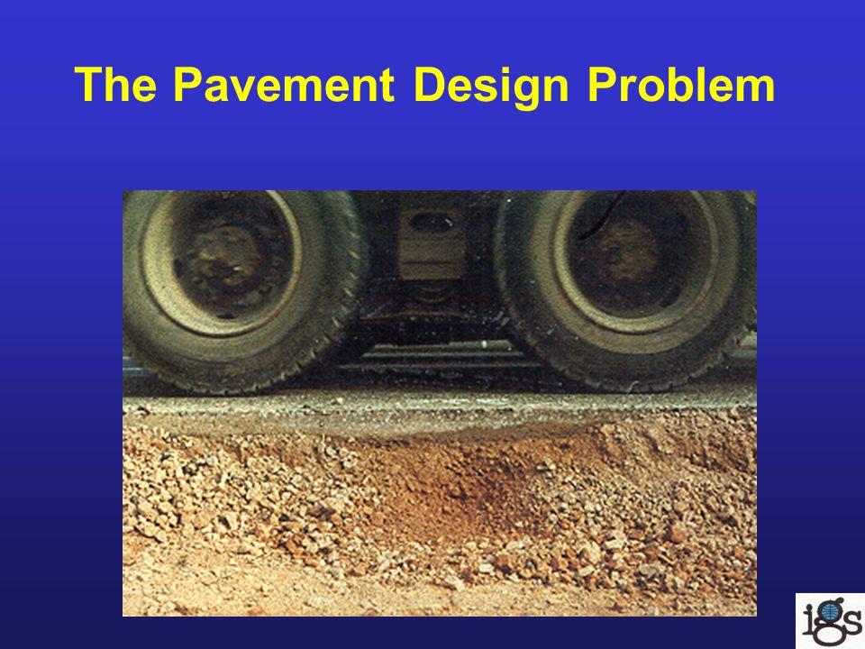The Pavement Design Problem