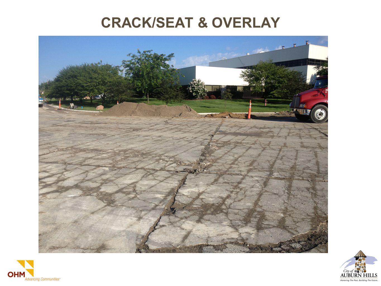 CRACK/SEAT & OVERLAY
