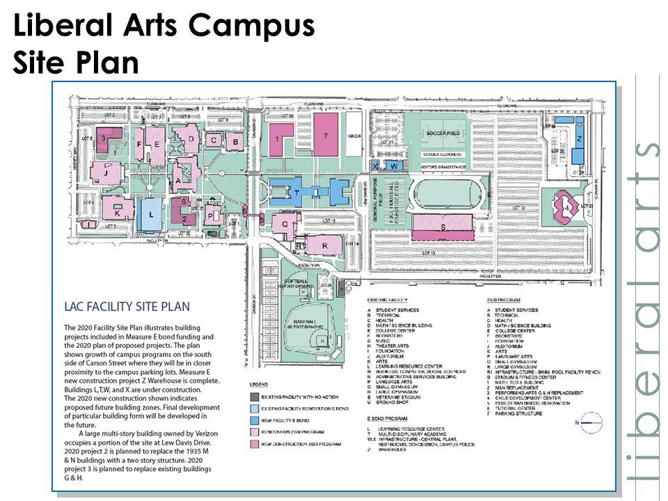 LAC Facility Site Plan l i b e r a l a r t s Liberal Arts Campus Site Plan