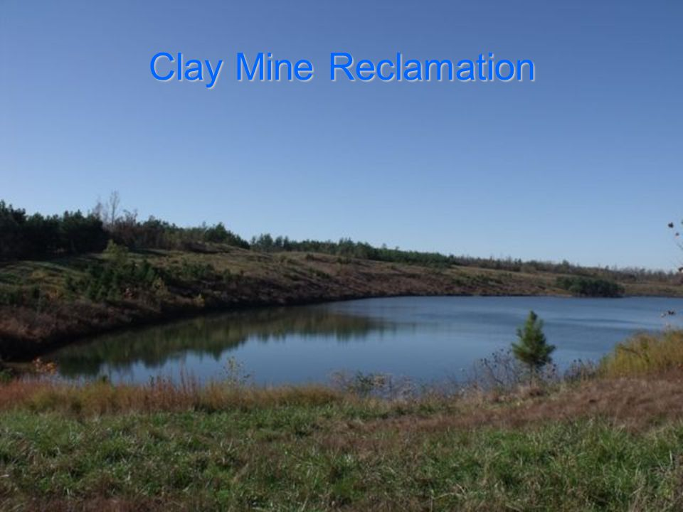 Clay Mine Reclamation