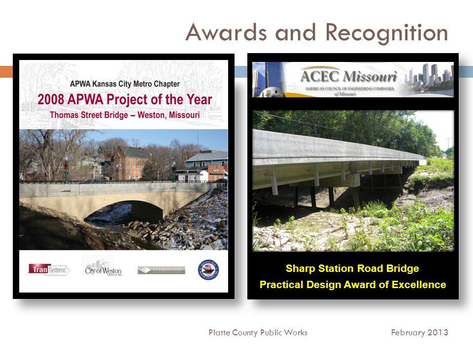 Partnerships Platte County Public Works February 2013