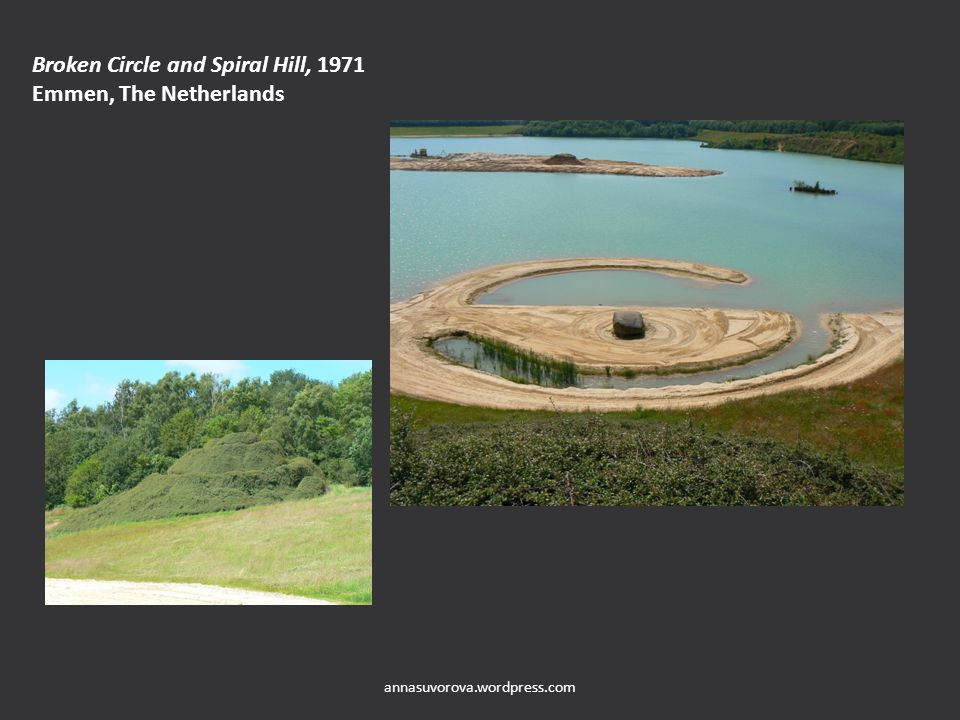 Broken Circle and Spiral Hill, 1971 Emmen, The Netherlands annasuvorova.wordpress.com