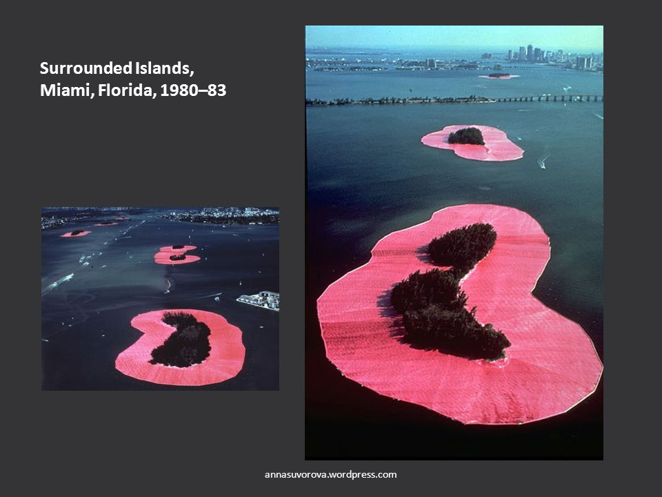 Surrounded Islands, Miami, Florida, 1980–83 annasuvorova.wordpress.com