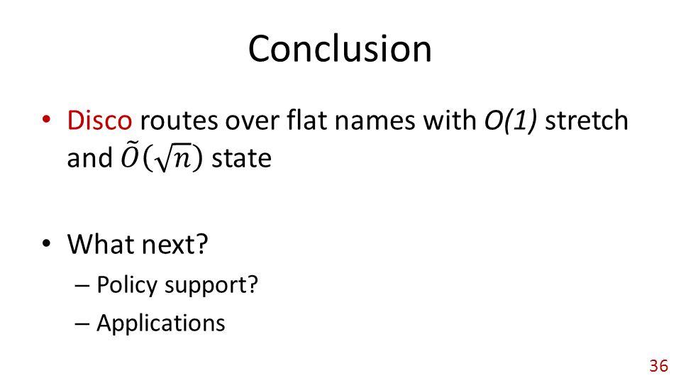 Conclusion 36