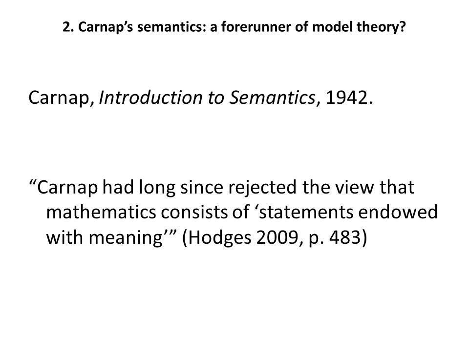4. Carnap and Kemeny: interactions