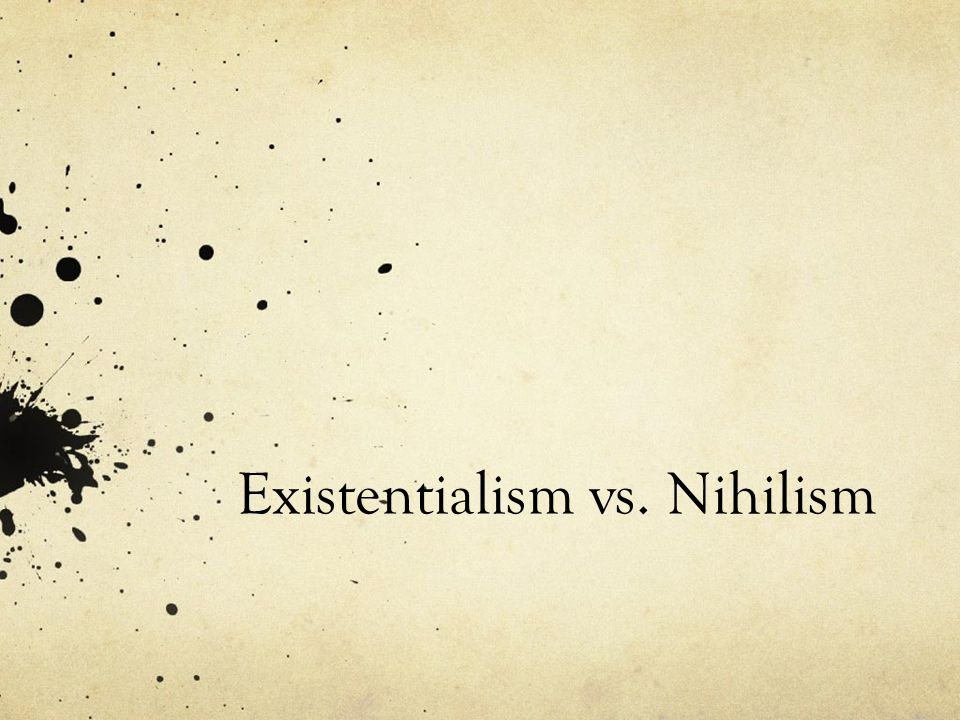 Existentialism The basic definition is the philosophy that individuals create their own meaning in their lives, as opposed to having a deity or higher power creating it for them. An existentialist will find self and the meaning of life through free will, choice, and personal responsibility.