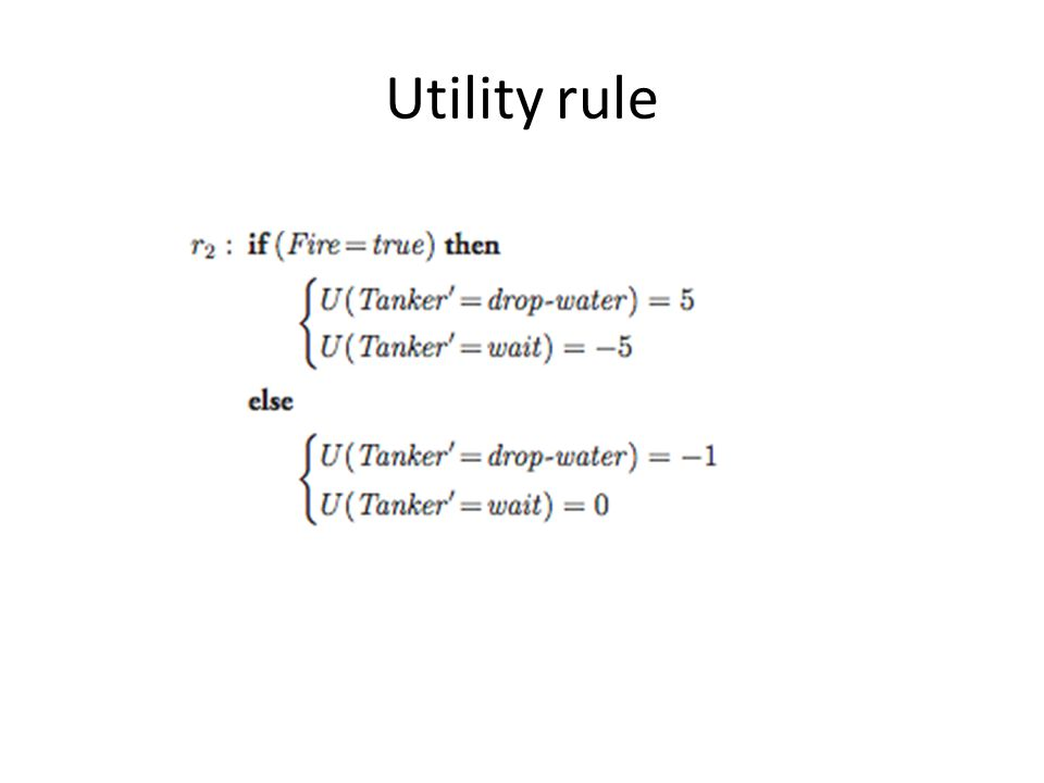 When are utility rules useful.