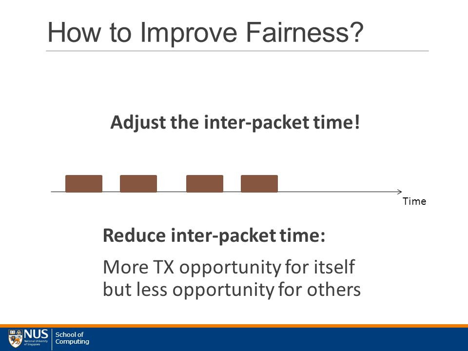 School of Computing How to Improve Fairness.
