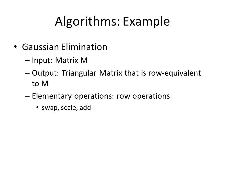 Algorithms Algorithms are named after Al-Khwārizmī ( Abū ʿAbdallāh Muḥammad ibn Mūsā al-Khwārizmī ) c.