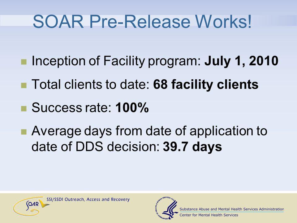 SOAR Pre-Release Works.
