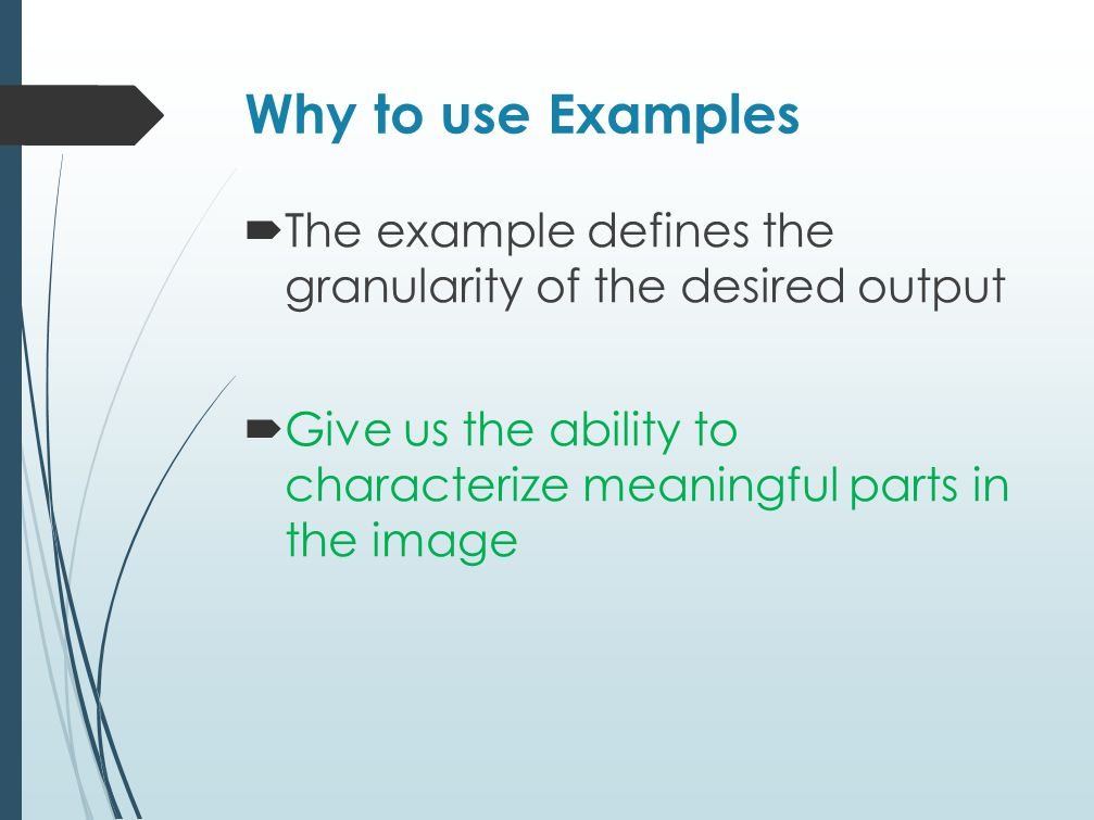 Give us the ability to characterize meaningful parts in the image