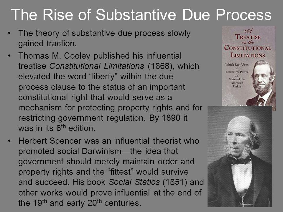 Munn v.Illinois (1877) In Munn, the Court began encouraging substantive due process arguments.