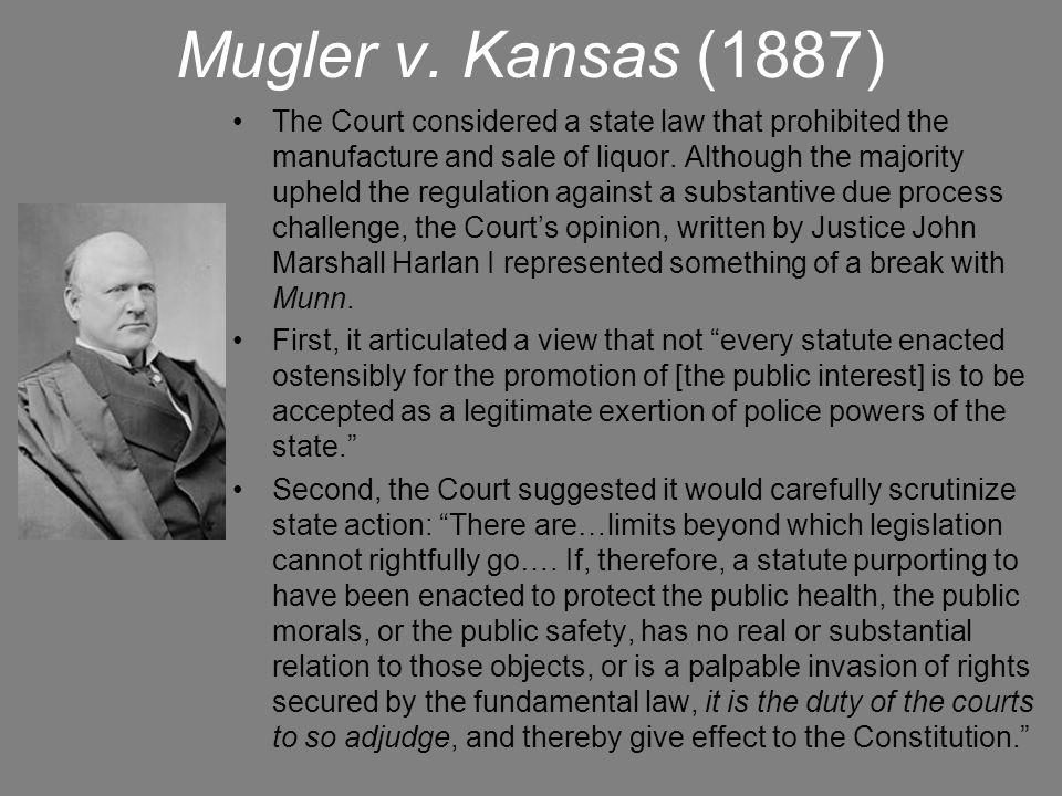 Bunting v.Oregon (1917) The next NCL sponsored case, Bunting v.