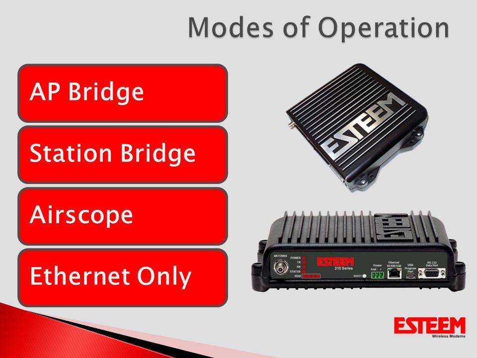 AP BridgeStation BridgeAirscopeEthernet Only