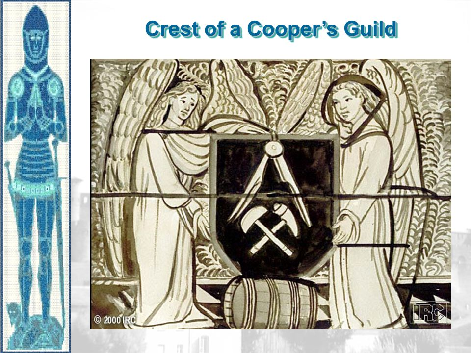 Crest of a Cooper's Guild