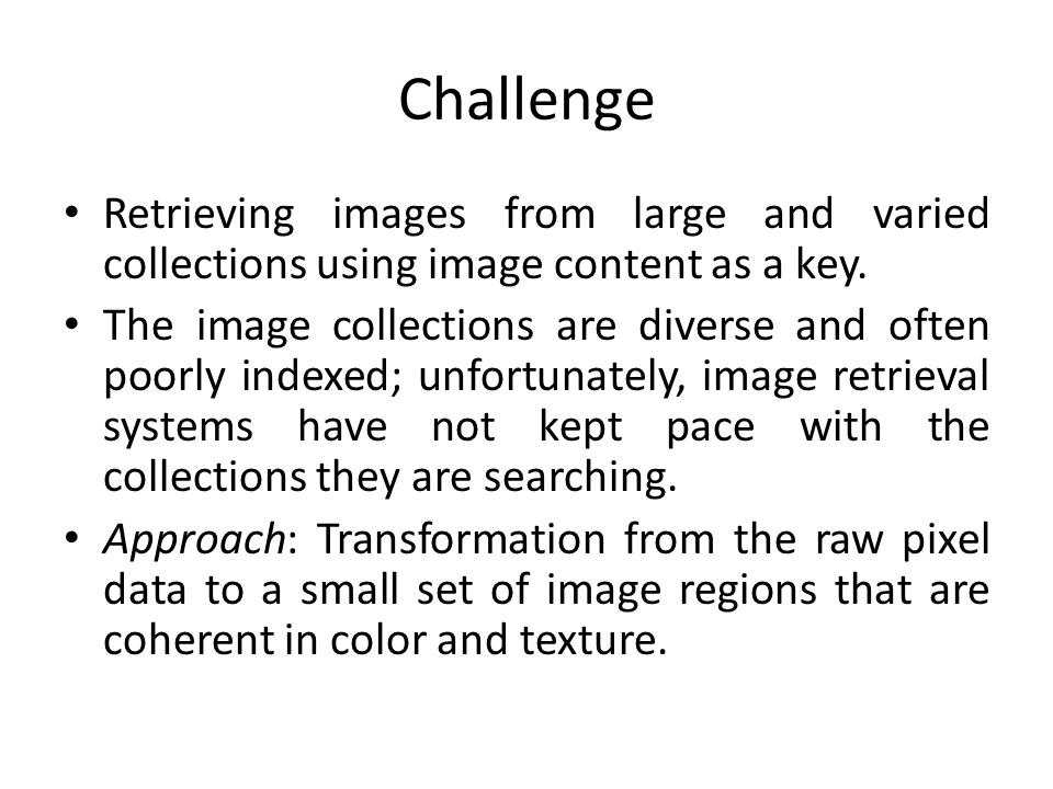 Scale Selection Use of a local image property known as polarity.