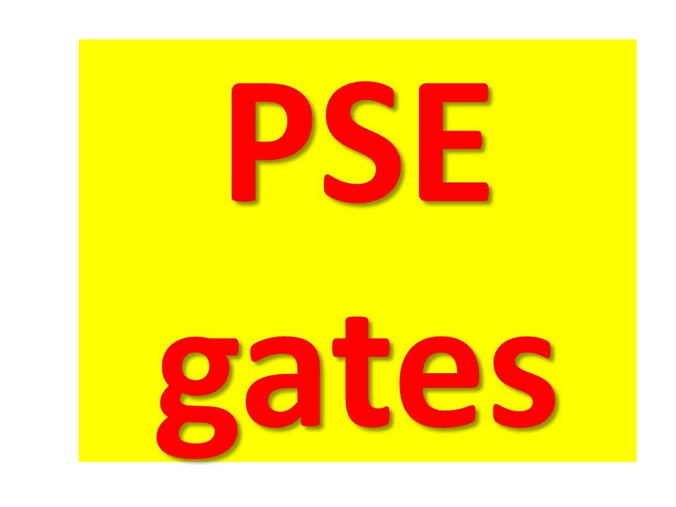 PSE gates