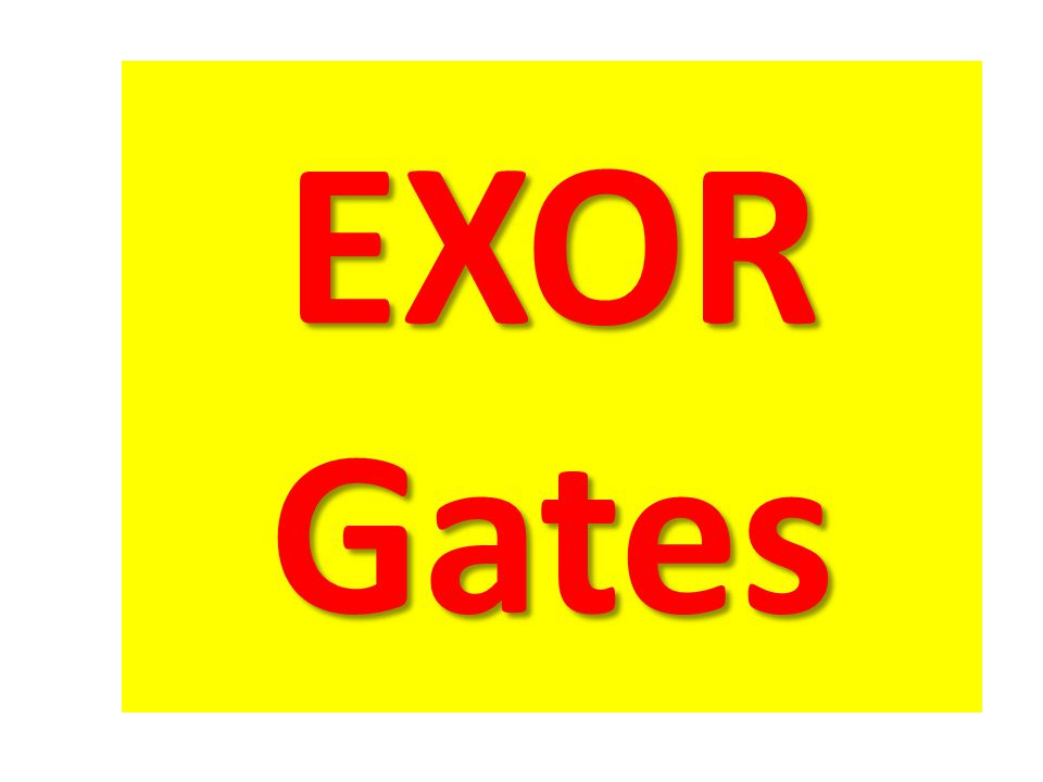 EXOR Gates