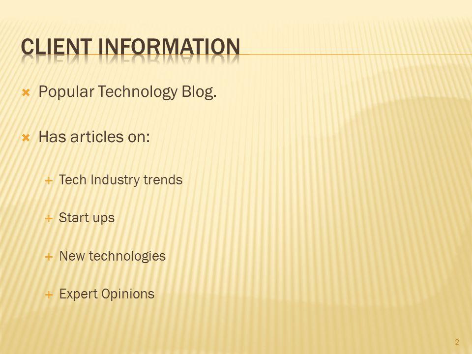  Popular Technology Blog.