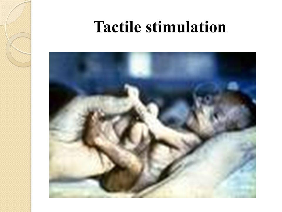 Tactile stimulation