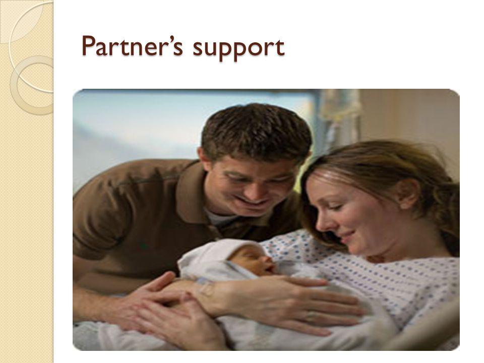 Partner's support