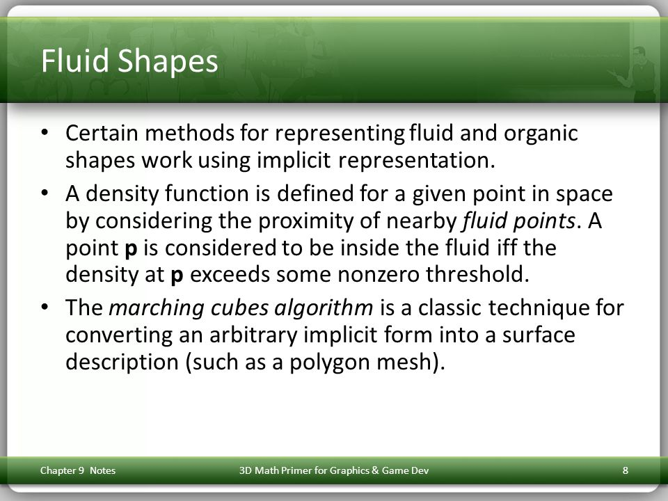Section 9.5: Planes Chapter 9 Notes3D Math Primer for Graphics & Game Dev59
