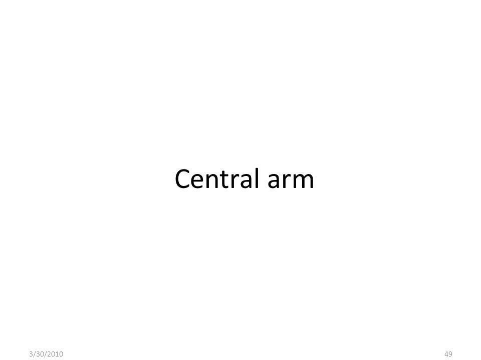Central arm 3/30/201049